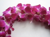 Double purple Bombay Lei