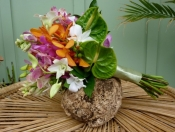 Mixed tropical bouquet