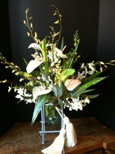 White arrangement 08-May-2013