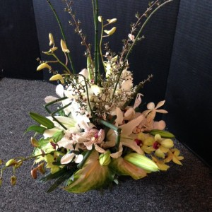 Bridal Show 2014 - Arrangement 1
